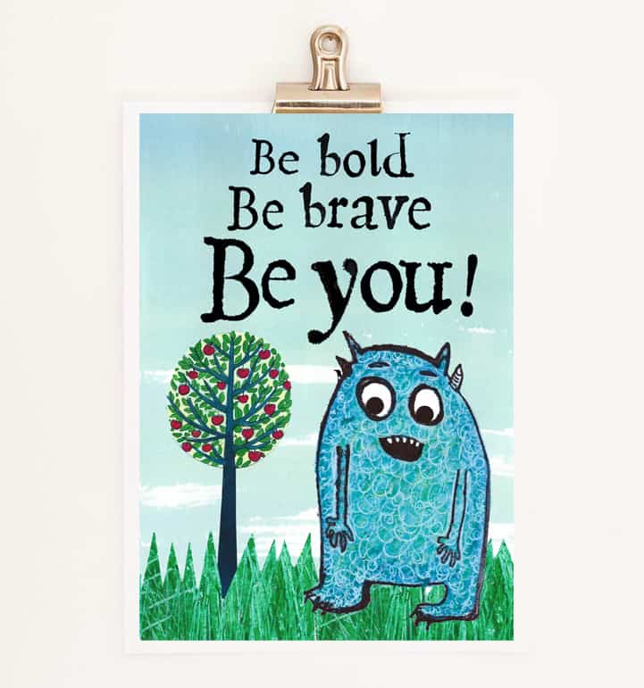 be brave, anti bullying, CBT, fear,