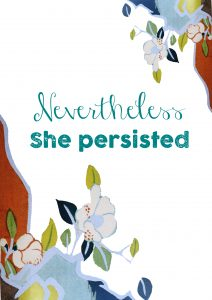 never the less she persisted, Hilary Clinton, feminism, The Guilty Feminism,