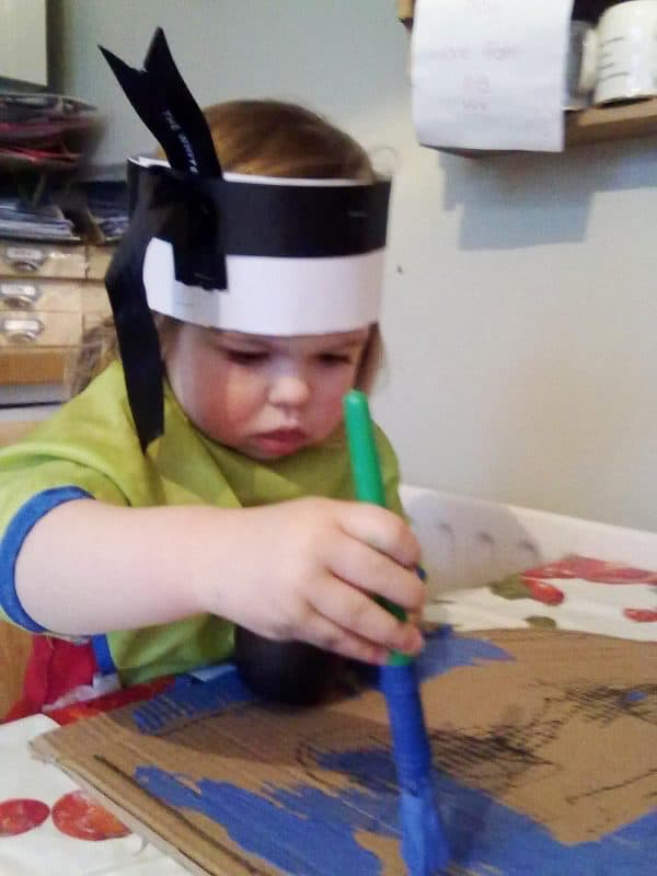 Be creative with the kids