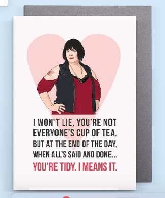 Gavin and Stacey Valentines card