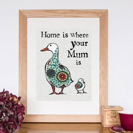 home print oak frame hi res