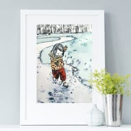Wellies Art Print