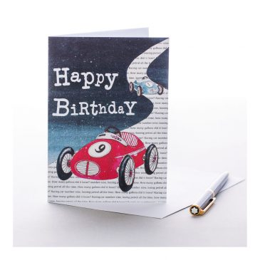 Vroom Vroom Greetings Card