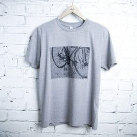 Men's bike t-shirt - gift for a cyclist