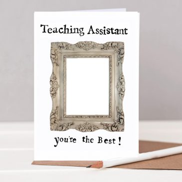 Teaching Assistant You're the Best Card
