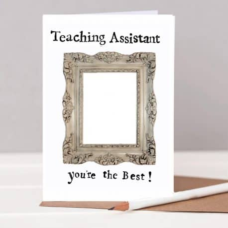HTS25A Teaching assistant card