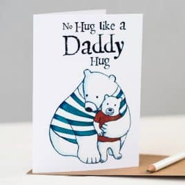 Daddy Hugs Mug - Father's Day Gift - Daddy Mug - Daddy Bear - Daddy Bear mug - Bears - Bear hugs