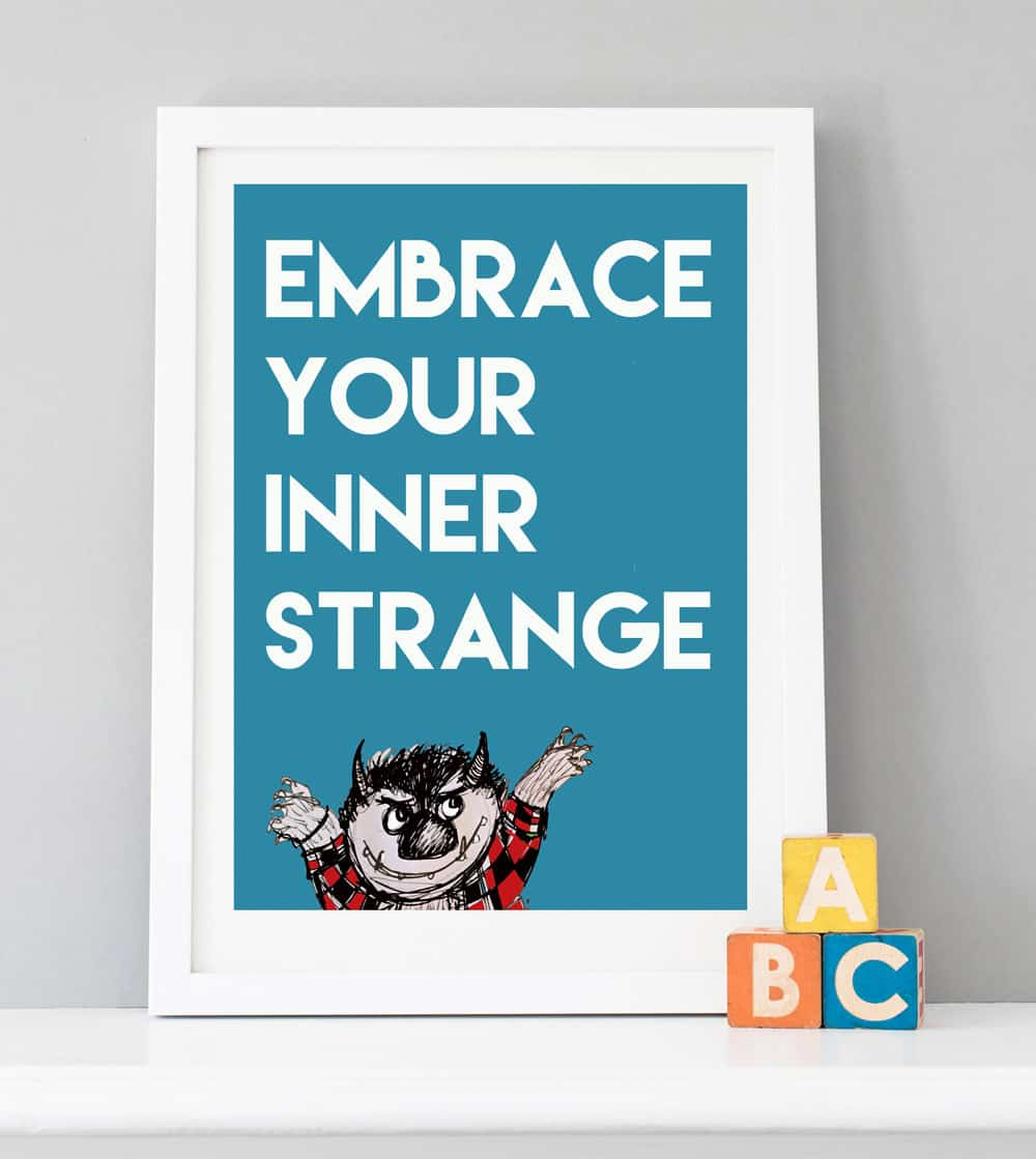 embrace your inner strange print low res