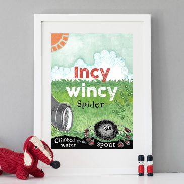 Incy Wincy Children's Print