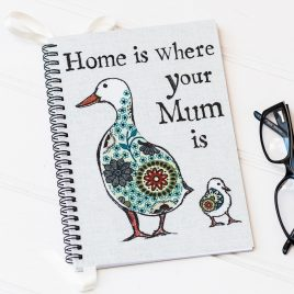 Home Is Where Your Mum Is Notebook