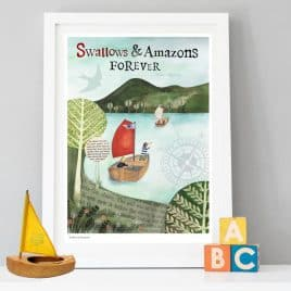 Swallows and Amazons Children's Print