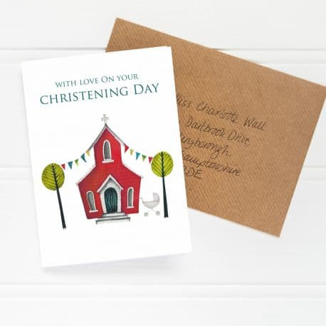 HTS127 Christening card
