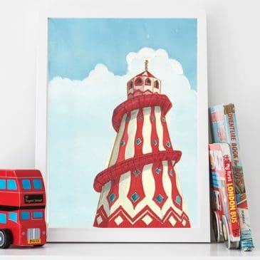 Helter Skelter Children's Print