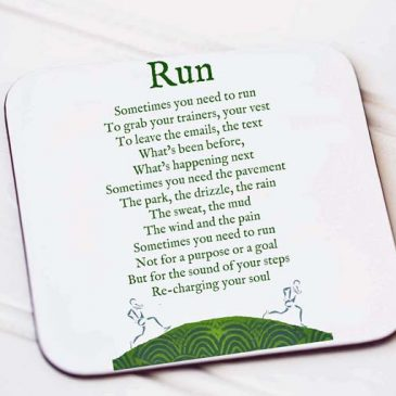 London Marathon, Marathon runner, couch to 5k, 5k, park run, run mummy run, running gift, nottingham gifts, gifts nottingham, gift for a mum, gift for a woman, Sports gift - Helena Tyce Designs, run poem coaster, run gift, motivational poem gift