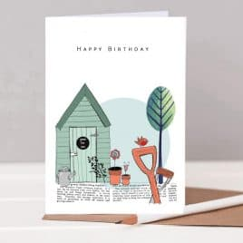 Birthday Card for a gardener