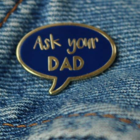 ask you dad on denim