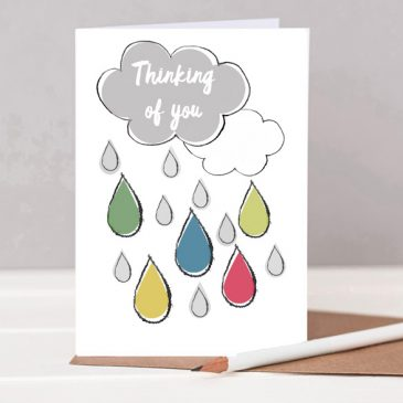 Thinking of You Card - Sympathy or a friend in need - sad gifting - card for a friend - card for someone sad - card to brighten someone's day