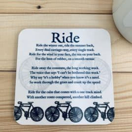 Bike Coaster - gift for a cyclist
