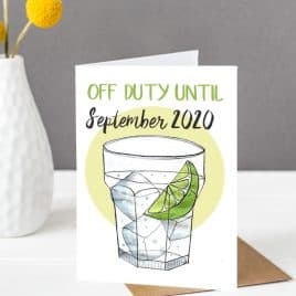 Gin teacher card
