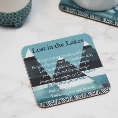 Lake district coaster gift