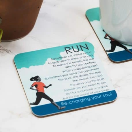 run poem coaster women