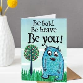 children's wall art empowering poster for kids