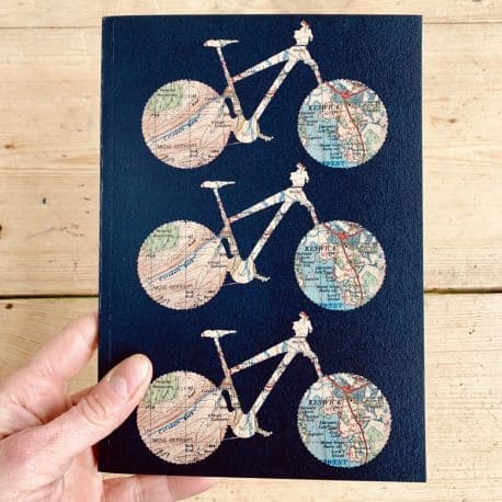 cycle notebook gift