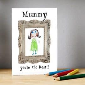 MOther's Day Card from a younger child