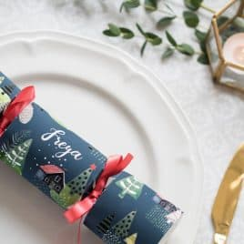 Personalised DIY Christmas Cracker Kit
