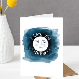 To the Moon and Back Mother's Day Card