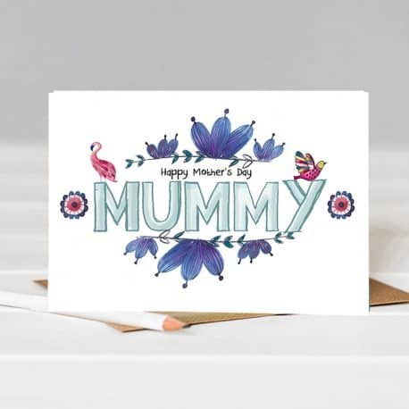 Mother's day Card for Mummy