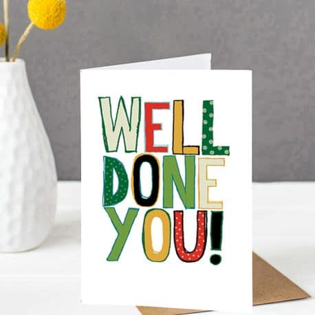 Good Luck Card - Ethical Cards Nottingham