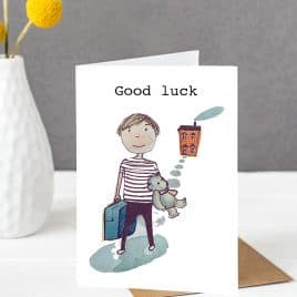Good luck card - ethical