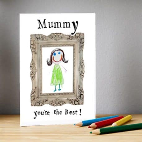Personalised birthday card mummy