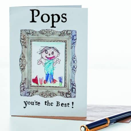 perosnalised card for Dad