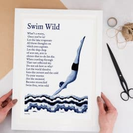 Swimming Print For Him