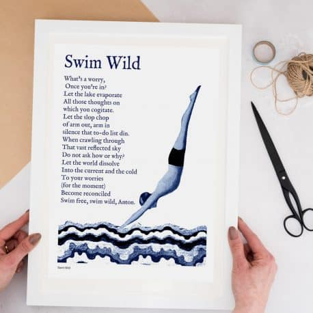 Swimming gift for him