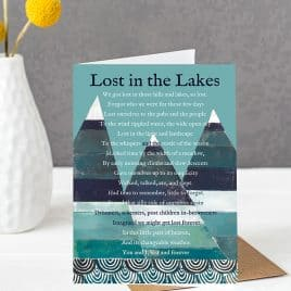 lake district card